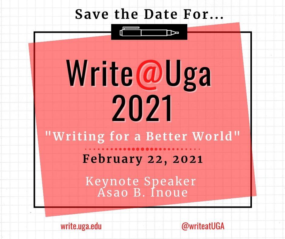 Save the Date! Write@UGA 2021
